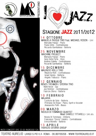 Locandina I Love Jazz