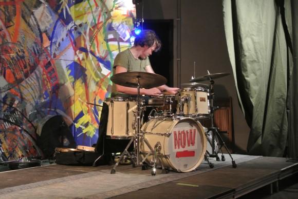 il batterista Norvegese Ståle Liavik Solberg