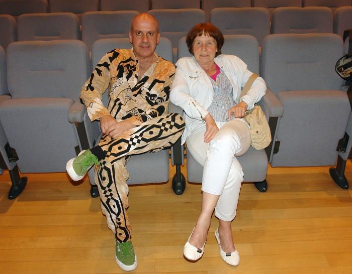 Giampaolo Ascolese e Marie Reine Levrat