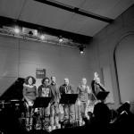 I ringraziamenti alla Casa del Jazz (foto di SIlvia Barba)