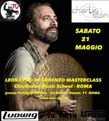 locandina master class charleston 2016