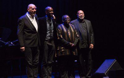 Moroni, Barron, Chestnut e Grissett. E Thelonious Monk