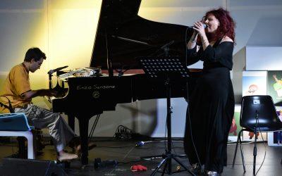 Livio Minafra e Simona Calipari le magie del piano, le suggestioni della voce