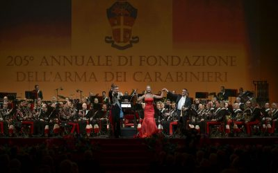 La Banda dei Carabinieri a Roma con Paolo Fresu e Caroline Campbell: le affascinanti contaminazioni sinestetiche della musica