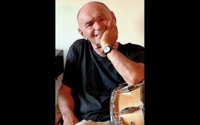 Franco Mondini batterista e giornalista lucido, ironico e appassionato